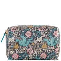 Morris And Co Pink Clay And Honeysuckle Large Wash Bag