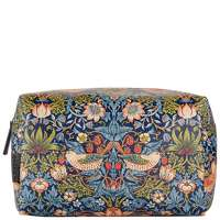 Click to view product details and reviews for Morris And Co Strawberry Thief Large Wash Bag.
