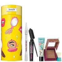 Image of benefit Christmas 2020 Cheers, My Dears! Bronzer, Brow, Mascara and Primer Gift Set (Worth GBP101)