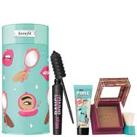 Image of benefit Christmas 2020 Badgal to the Bone Bronzer, Mascara and Primer Gift Set (Worth GBP61.50)