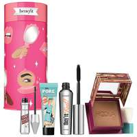 Image of benefit Christmas 2020 BYOB: Bring Your Own Beauty Bronzer, Brow, Mascara and Primer Gift Set (Worth GBP84)