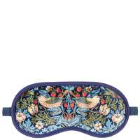 Click to view product details and reviews for Morris And Co Strawberry Thief Velvet Eye Mask.