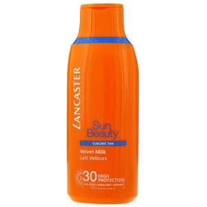 Lancaster Sun Beauty Velvet Milk Sublime Tan for Body SPF30 175ml