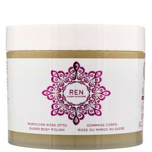REN Clean Skincare Body  Moroccan Rose Otto Sugar Body Polish 330ml / 11.2 fl.oz.