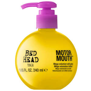 TIGI Bed Head Thickening and Volumizing Motor Mouth Mega Volumiser With Gloss 240ml