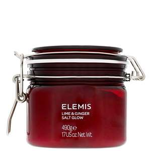 Elemis Body Exotics Lime and Ginger Salt Glow 490g / 17 oz.