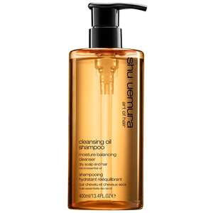 Shu Uemura Art of Hair Cleansing Oil Shampoo Moisture Balancing Cleanser for Dry Hair and Scalp 400ml