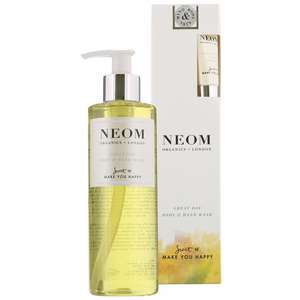 Neom Organics London Scent To Make You Happy Great Day Body & Hand Wash 250ml + Free Hand Balm 10ml