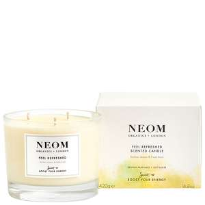 Neom Organics London Scent To Boost Your Energy Feel Refreshed Scented Candle (3 Wicks) 420g