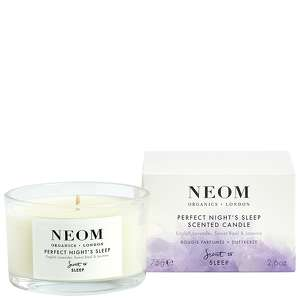 Neom Organics London Scent To Sleep Tranquillity Scented Candle (Travel) 75g