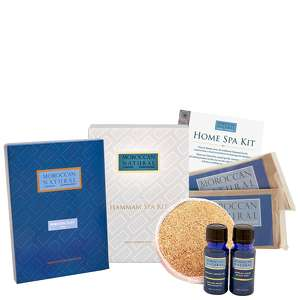 Moroccan Natural Organic Home Spa Kit - Hamam Style