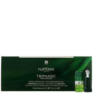 Rene Furterer Triphasic VHT Anti-Hair Loss Ritual: Regenerating Serum for Hair Loss 16 x 5.5ml