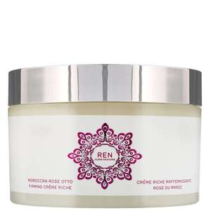 REN Clean Skincare Body  Moroccan Rose Otto Firming Creme Riche 200ml / 6.8 fl.oz.