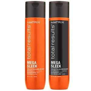 Matrix Total Results Mega Sleek Duo Set for Frizzy Hair