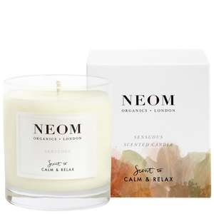 Neom Organics London Scent To Calm & Relax Sensuous Scented Candle (1 Wick) 185g