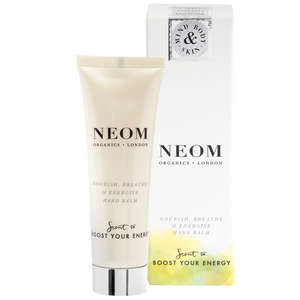 Neom Organics London Scent To Boost Your Energy Nourish, Breathe and Energise Hand Balm 50ml