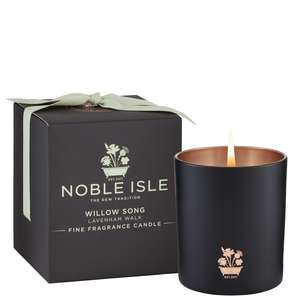 Noble Isle Home Fragrance Willow Song Fine Fragrance Candle 200g