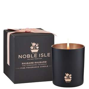 Noble Isle Home Fragrance Rhubarb Rhubarb! Fine Fragrance Candle 200g