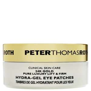 Peter Thomas Roth 24K Gold Pure Luxury Lift & Firm Hydra-Gel Eye Patches x 30