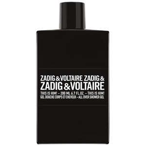 Zadig & Voltaire This Is Him! Gel douche 200ml