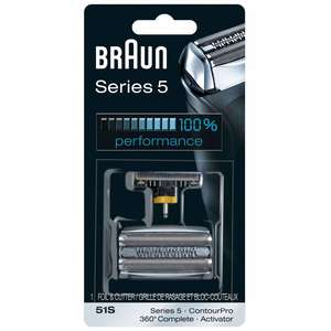 Braun Replacement Heads Series 5 51S Foil & Cutter