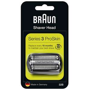 Braun Replacement Heads Series 3 32B Cassette