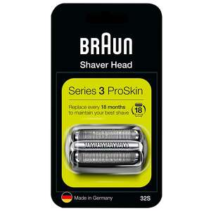 Braun Replacement Heads Series 3 32S Cassette
