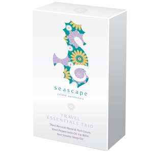 Seascape Island Apothecary Gifts Travel Essentials Trio Gift Set