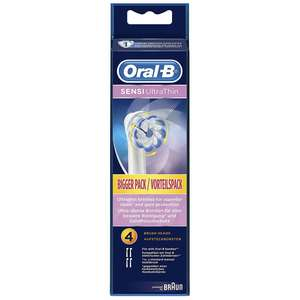 Oral-B SensiUltraThin Replacement Heads 4 Pack