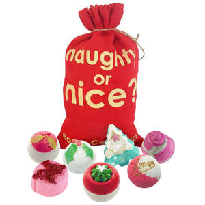 Bomb Cosmetics Christmas 2019 Naughty or Nice Sack