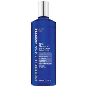 Peter Thomas Roth Glycolic 3% Glycolic Solutions Cleanser 250ml