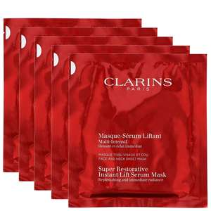 Clarins Super Restorative Instant Lift Serum Mask 5 x 30ml / 1 fl.oz.