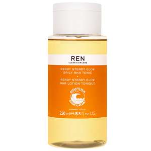 REN Clean Skincare Face Ready Steady Glow Daily AHA Tonic 250ml / 8.5 fl.oz.