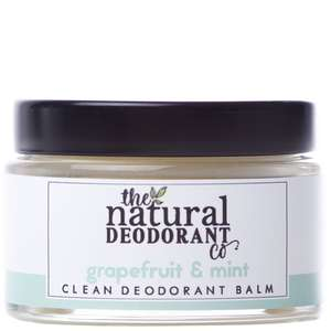 The Natural Deodorant Co. Clean Deodorant Balm Grapefruit + Mint 55g