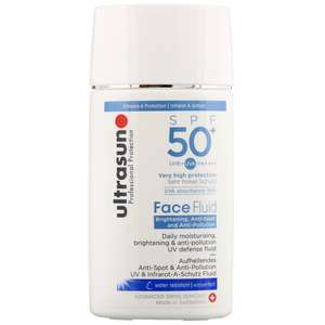 Ultrasun Face  Face Fluid: Brightening, Anti-Spot & Anti-PollutionSPF 50+ 40ml