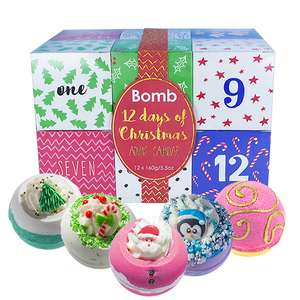 Bomb Cosmetics Gift Packs 12 Days of Christmas