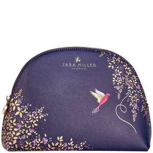 SARA MILLER Accessories Medium Cosmetic Bag - Navy