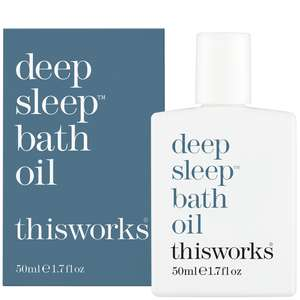 thisworks Sleep Deep Sleep Bath Oil 50ml