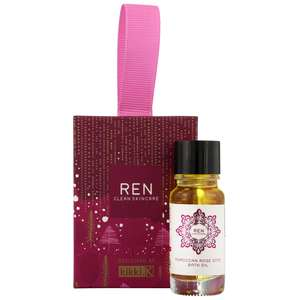 REN Clean Skincare Gifts Moroccan Rose Bath Oil Stocking Filler 10ml / 0.3 fl.oz.