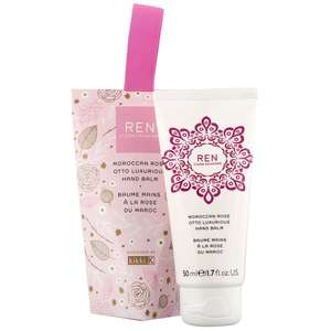 REN Clean Skincare Gifts Moroccan Rose Hand Balm 50ml / 1.6 fl.oz.