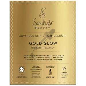 Seoulista Beauty Instant Facials Golden Glow Instant Facial