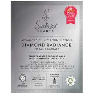 Seoulista Beauty Instant Facials Diamond Radiance Instant Facial