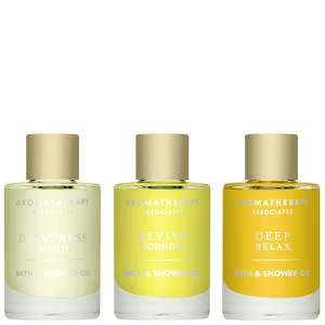 Aromatherapy Associates Gifting Essential Bath & Shower Oils 3 x 9ml