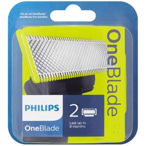 Philips OneBlade 2 x Replacement Blades QP220/50