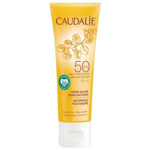 Caudalie Sun & Tan Anti-Wrinkle Face Suncare SPF50 50ml