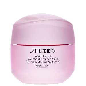 Shiseido Day And Night Creams White Lucent: Overnight Cream & Mask 75ml