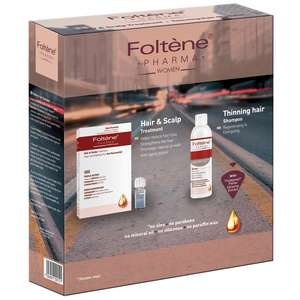 Foltène Anti-Hair Loss Solutions for Women Hair & Scalp Treatment Kit for Women