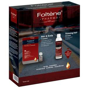 Foltène Anti-Hair Loss Solutions for Men Hair & Scalp Treatment Kit for Men