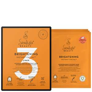 Seoulista Beauty Gifts & Sets 3 Pack Brightening Instant Facial