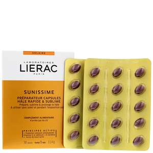 Lierac Sunissime Sun Care Tan Preparing Capsules x 30